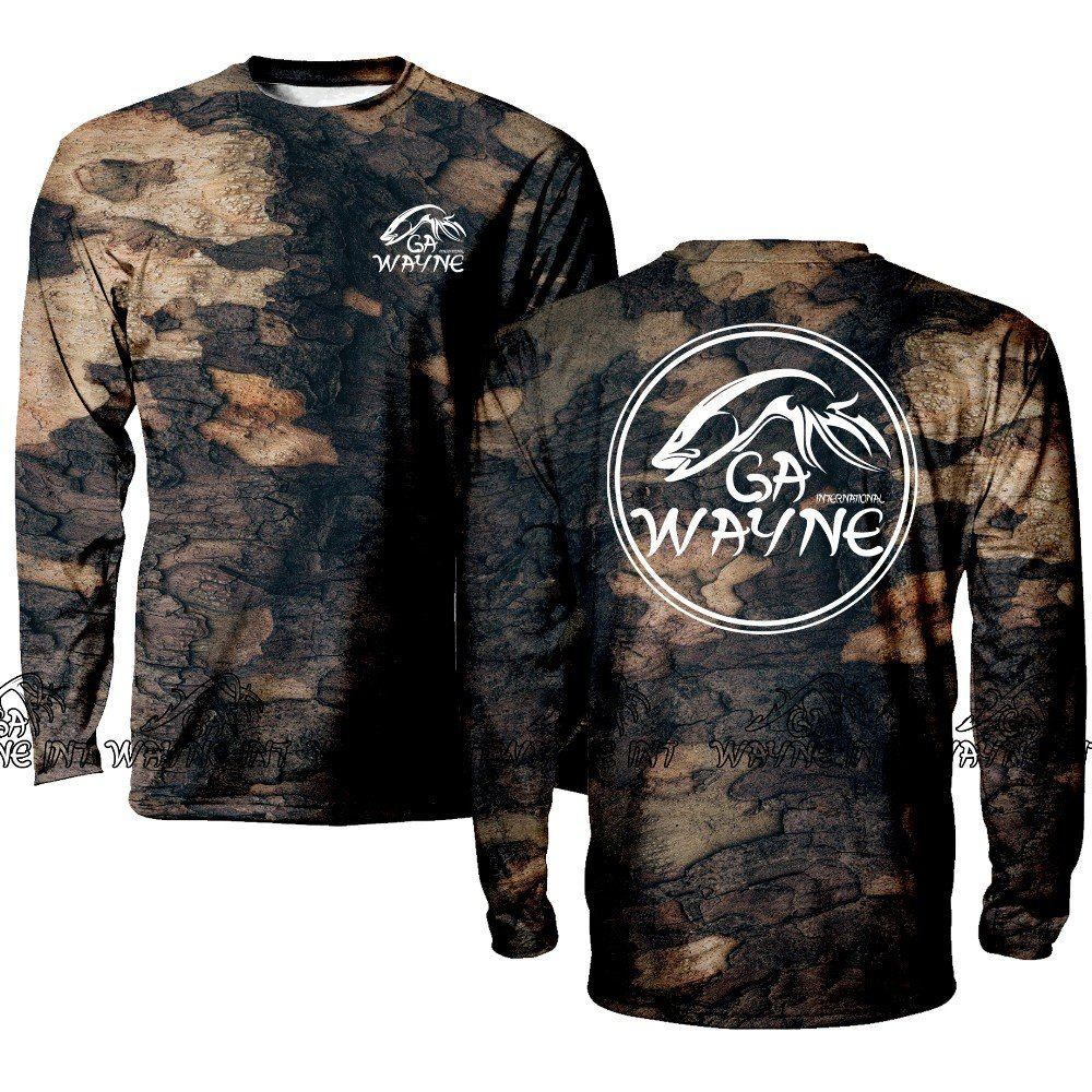 Men's Long sleeve Hunting Camo Shirt