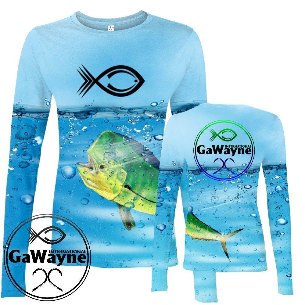 Blue Mahi Fishing Performance shirts