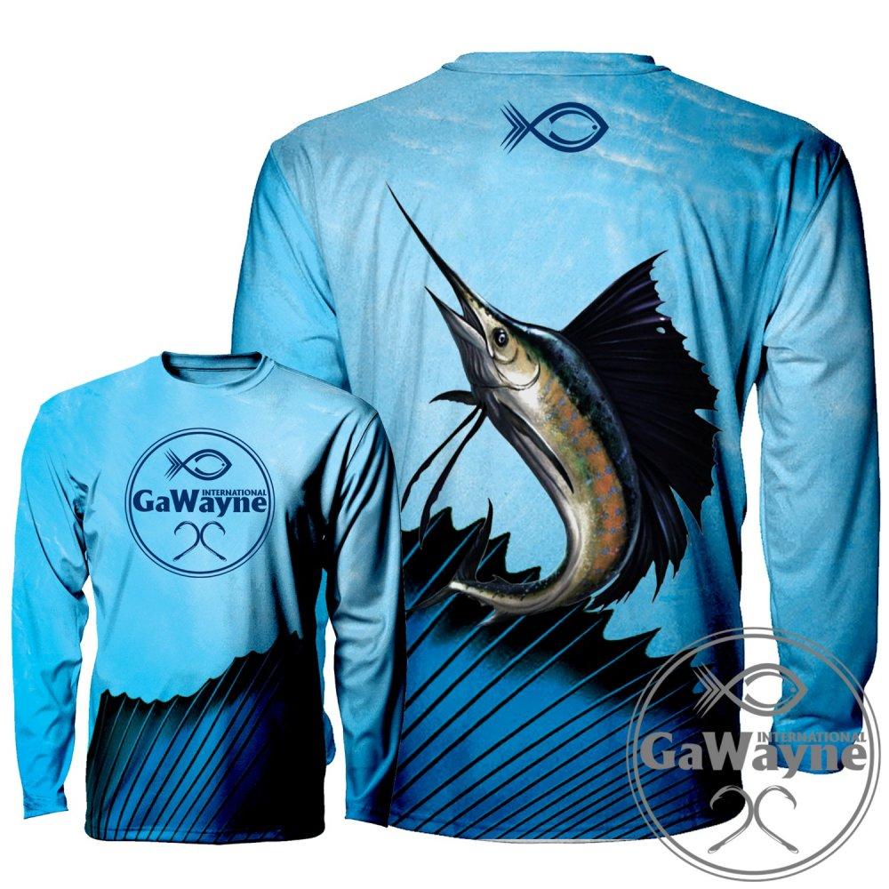 SailFish Fishing Performance Shirts