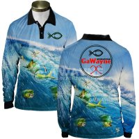 Mahi Waves Fishing Jersey