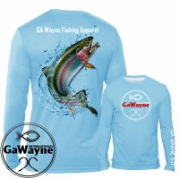 Rainbow Trout Fishing Performance Shirts