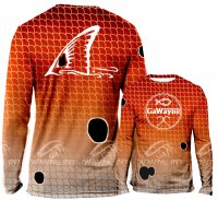Redfish Scales High Performance Sun Shirt
