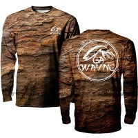 Men's Long sleeve hunting camo shirt
