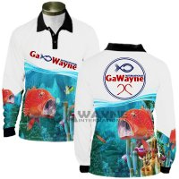 Coral Trout Fishing Jersey