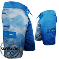 Blue Waves Fishing Shorts