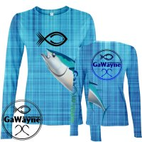 Tuna Fishing Performance shirts