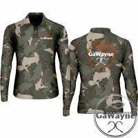 Fish Camo Fishing Jersey