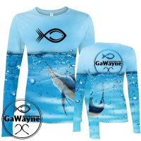 Marlin Fishing Performance shirts
