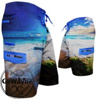 Oceanic Camo Fishing Shorts