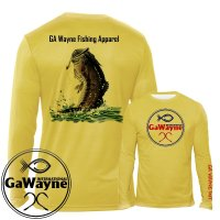 Bass Fishing Performance Shirts