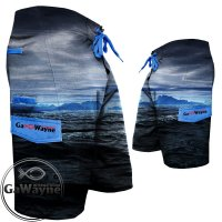 Oceanic Dark Fishing Shorts