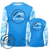 Blue Waves Fishing Performance Shirts