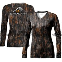 Women Haunt Camo Long sleeve shirt