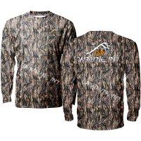Hazel Hunting Camo Long Sleeve Shirts